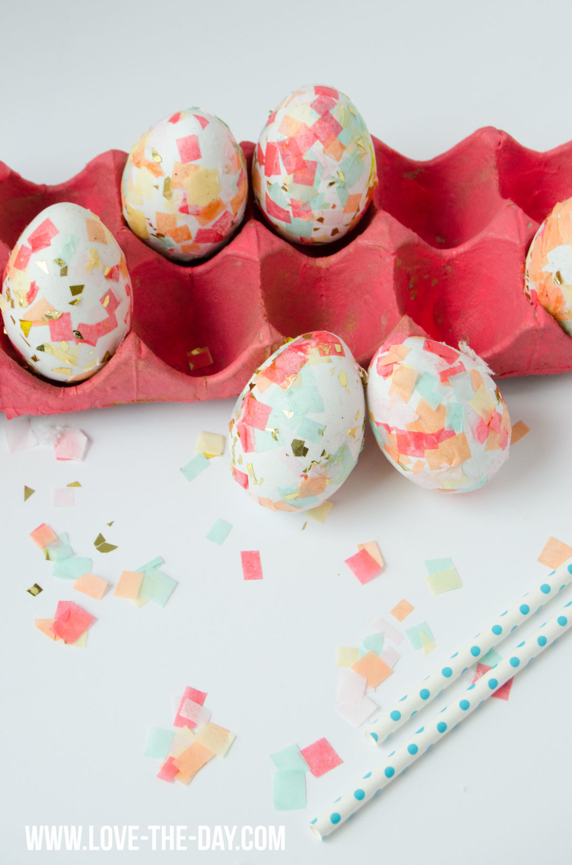 diy confetti easter egg tutorial