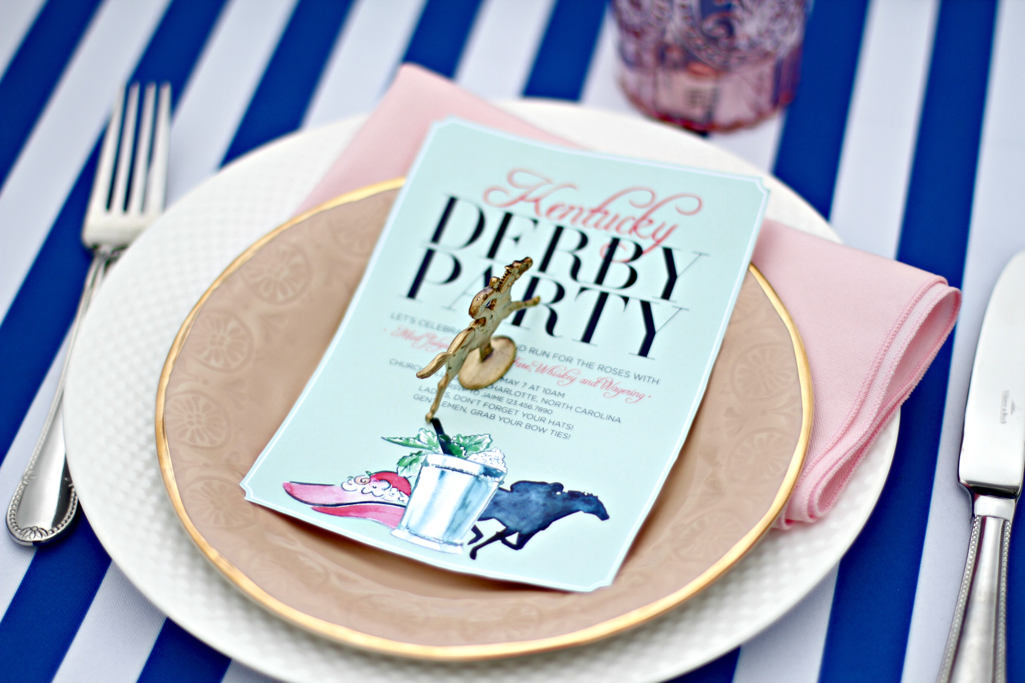 derby garden party ideas