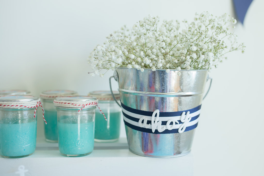 Nautical Baby Shower Ideas DIY Sugar Scrub Favors