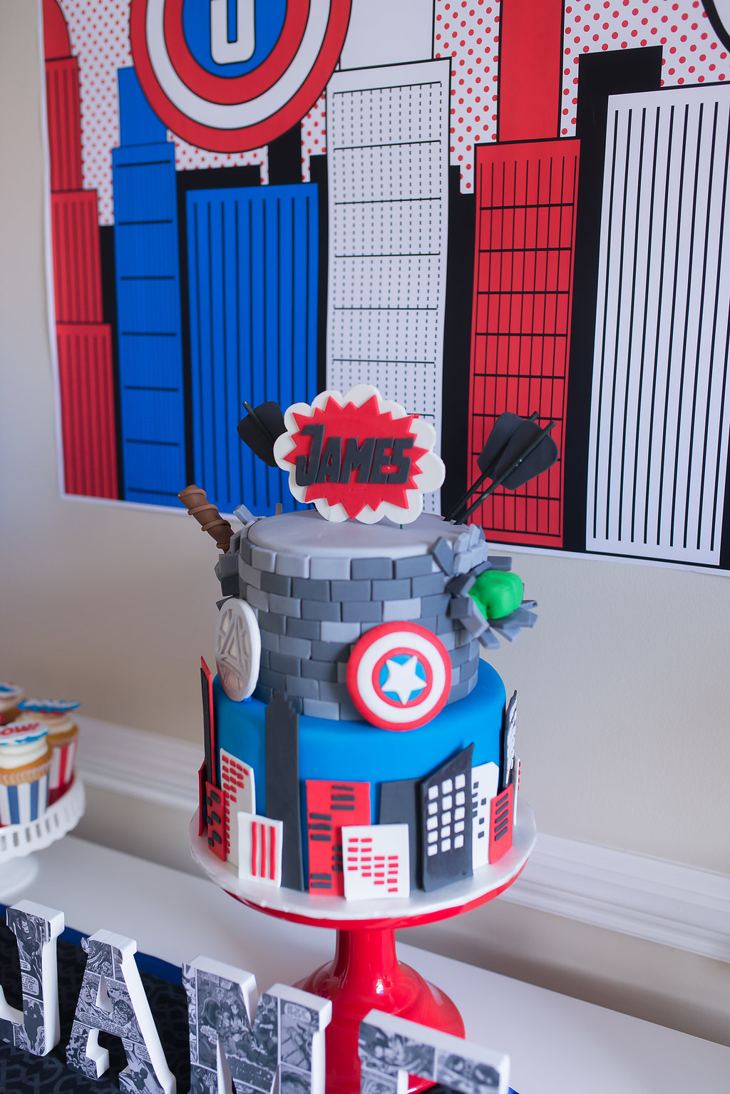 Avengers Assemble Amazing Super Hero Party