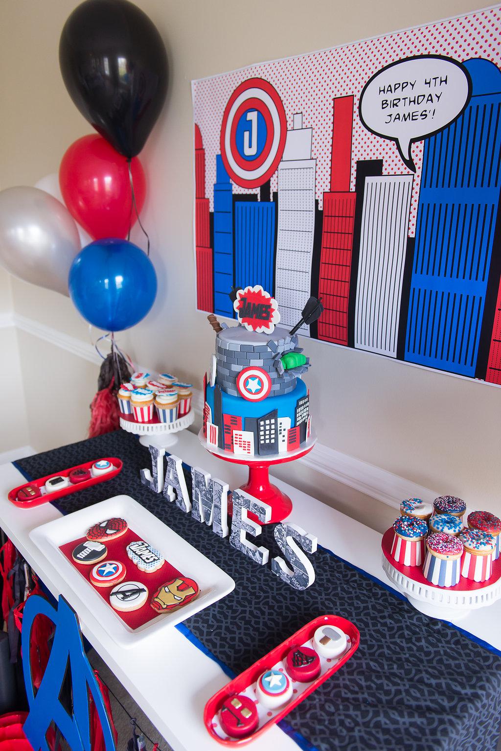 avengers assemble  amazing super hero party