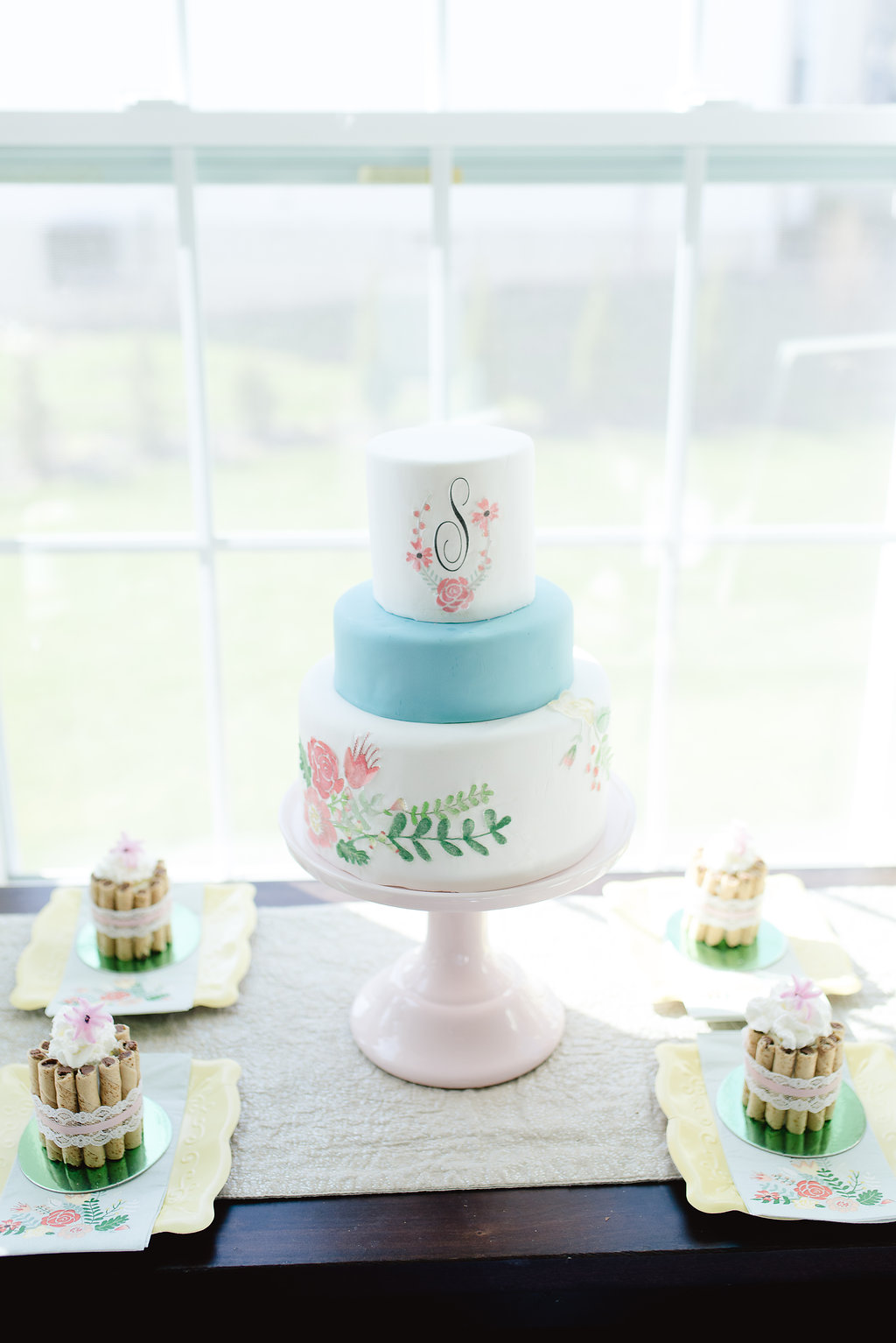 Garden Party Bridal Shower Chic Cookie Cup Dessert Recipe