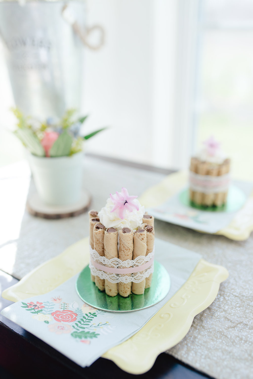 Garden Party Bridal Shower Ideas Cake