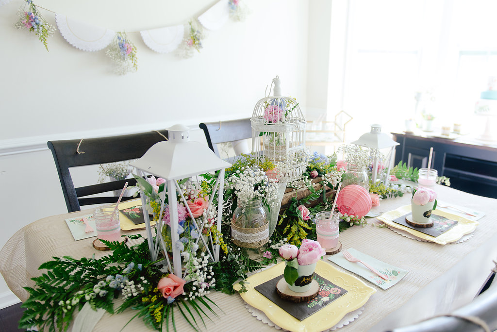 Garden Party Bridal Shower Ideas