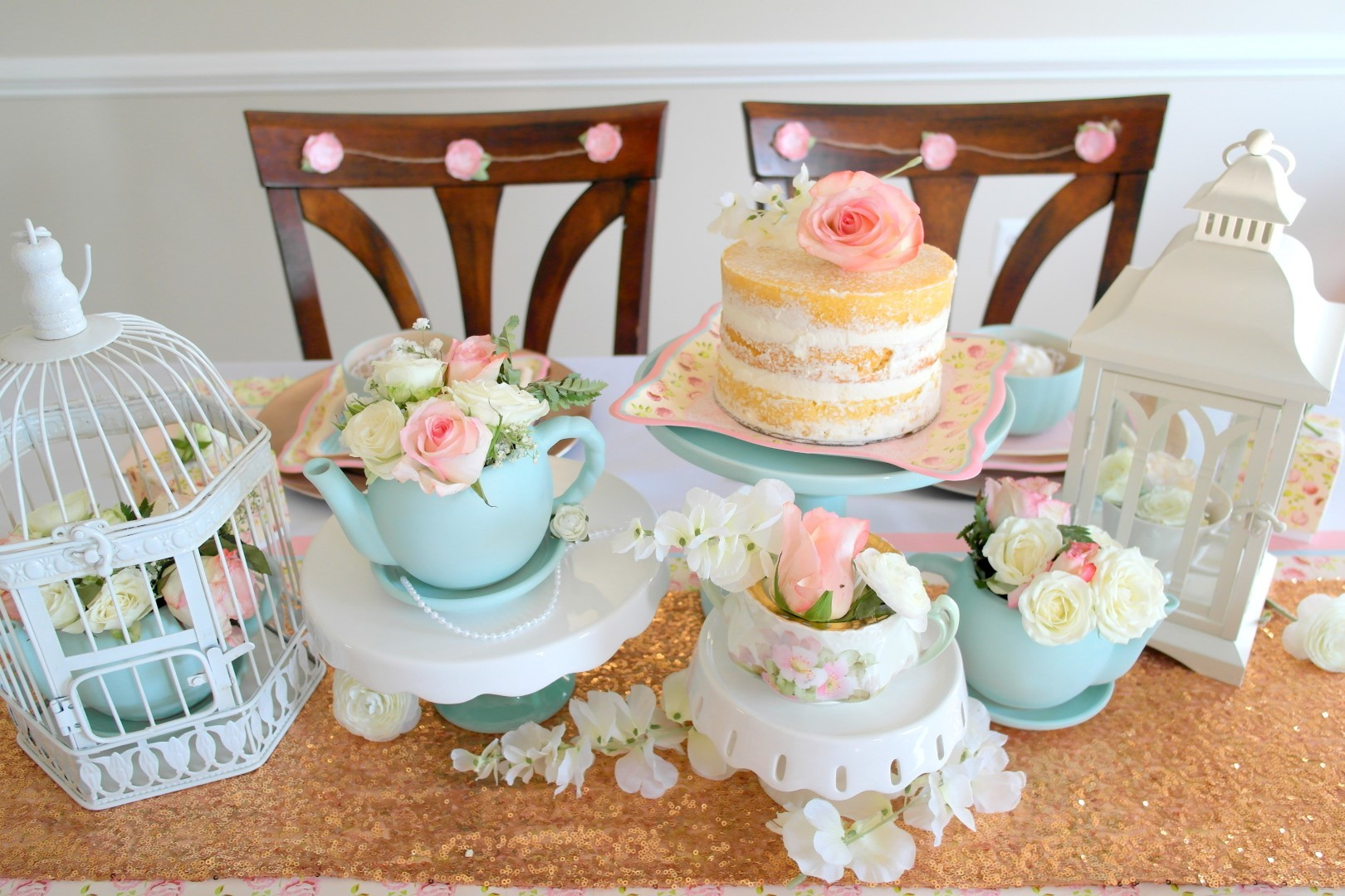 DIY BrideVintage Tea Party Bridal Shower
