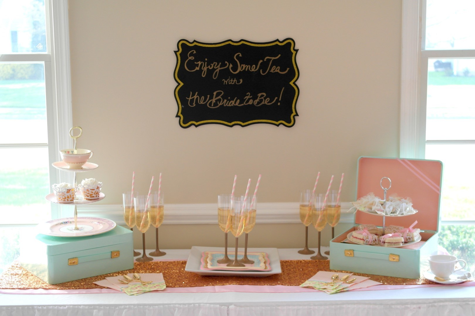 tea party bridal shower cocktail recipe