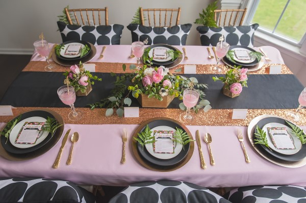 Geometric Garden Baby Shower
