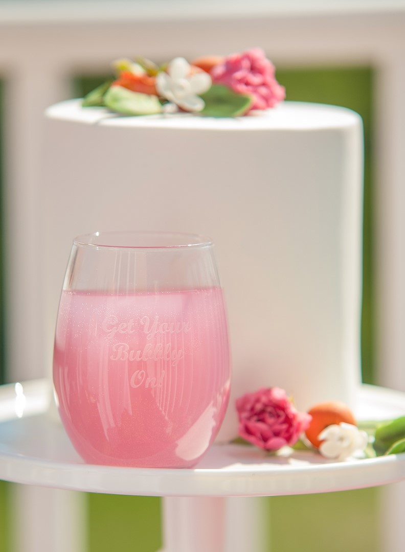 Champagne Bubbly Bar Bridal Shower