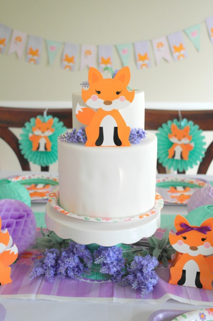 Lil Fox First Birthday Party Ideas