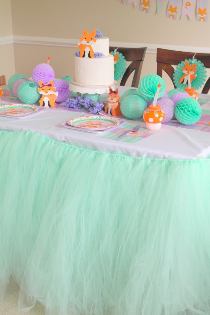 Lil Fox First Birthday Party Ideas and Recipes