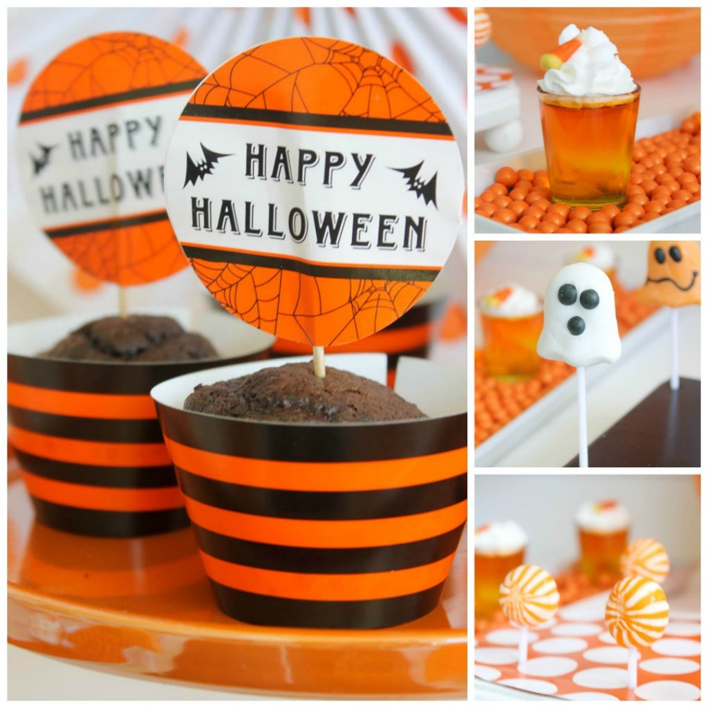 kids halloween party snack ideas