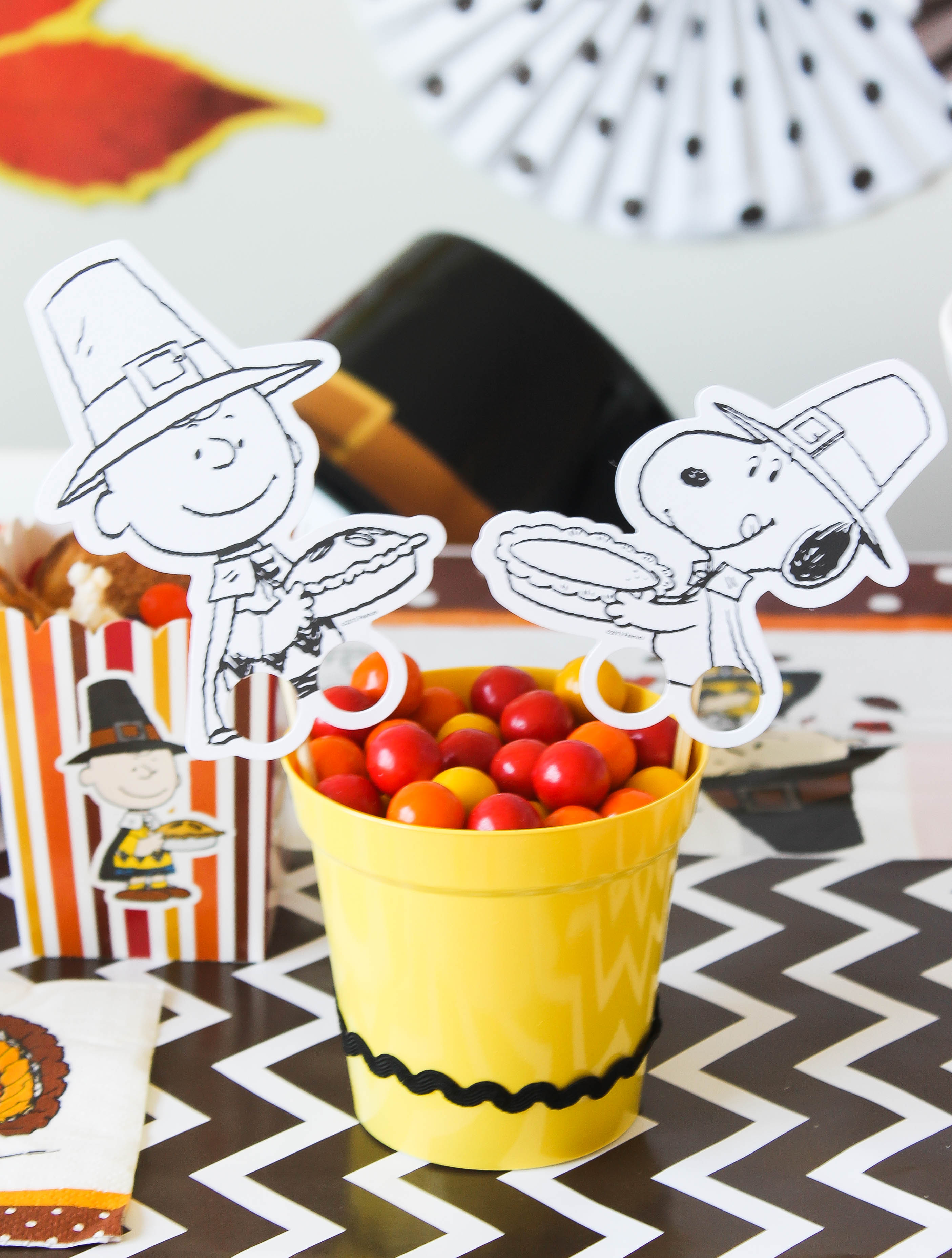 Peanuts Thanksgiving Party