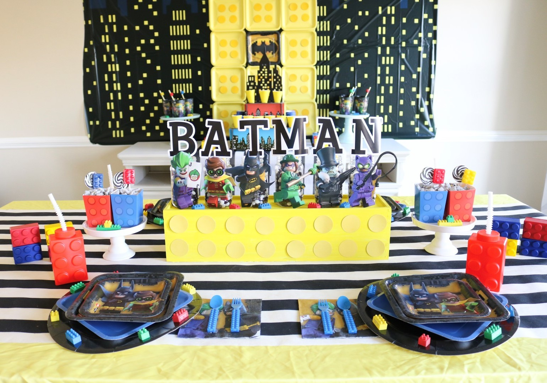 Awesome Lego Batman Party Ideas  sc 1 st  Sweetly Chic Events \u0026 Design & Lego Batman Party Ideas
