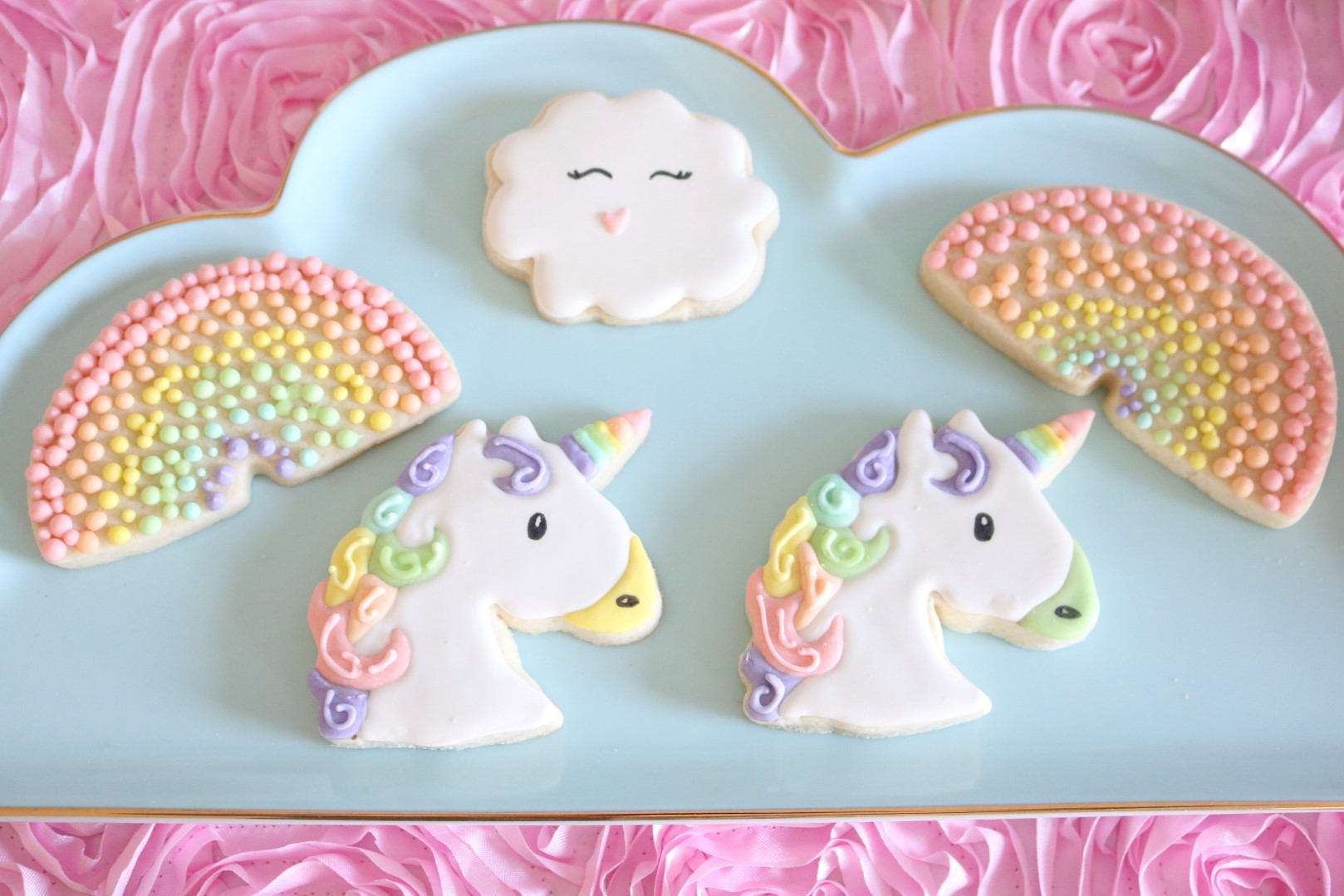 Rainbow and Unicorns Party Ideas