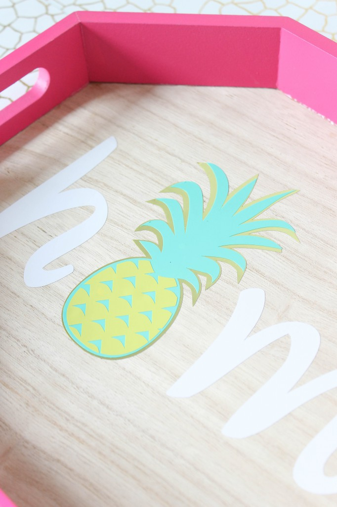DIY Home Pineapple Tray-5