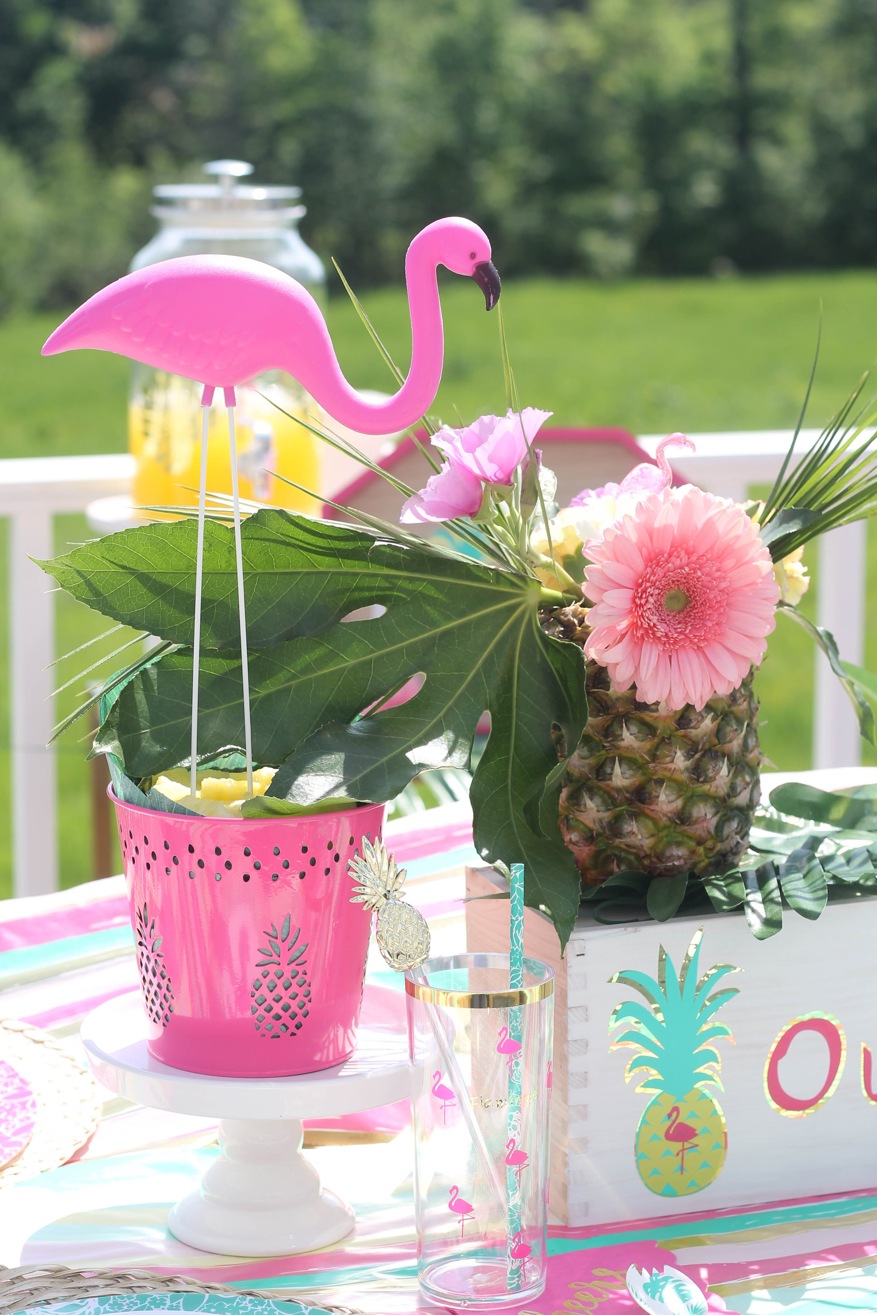Tropical Housewarming Party With Cricut Plus Giveaway