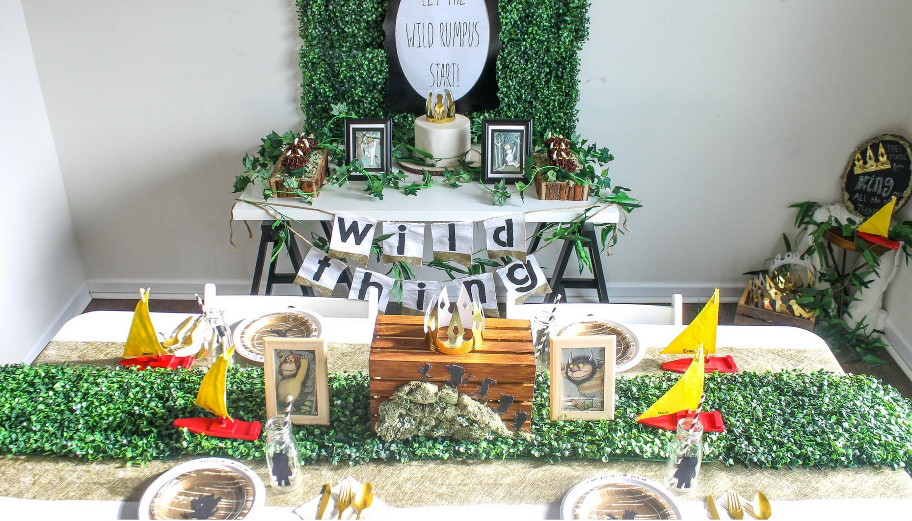 Where The Wild Things Are Inspired Birthday Party