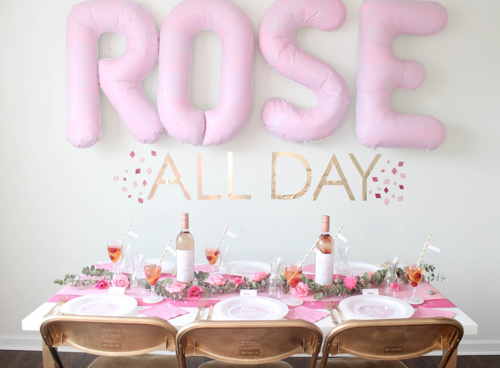 Rose' All Day Bridal Shower