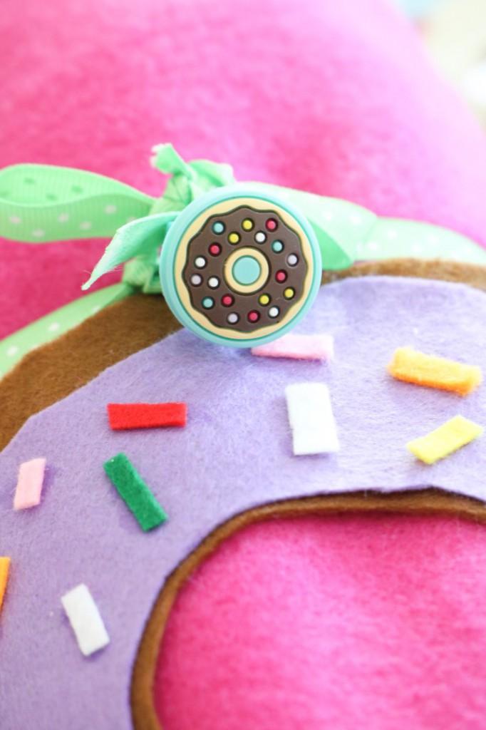 Donut Birthday Party Ideas DIY Donut Blanket