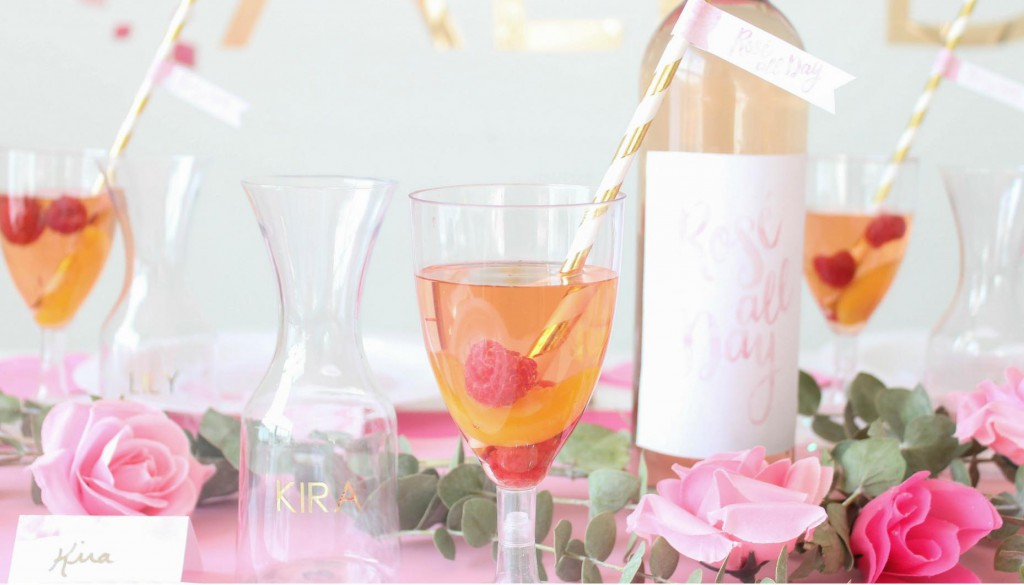 Rose' All Day Bridal Shower Rose' Sangria