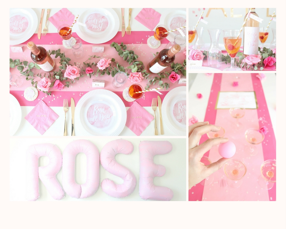 Rose' All Day Bridal Shower