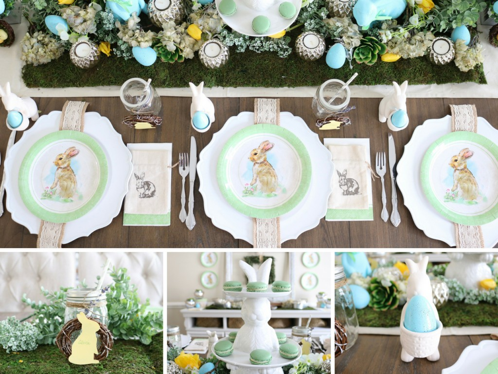 Farmhouse Easter Design and Decorations for Easter