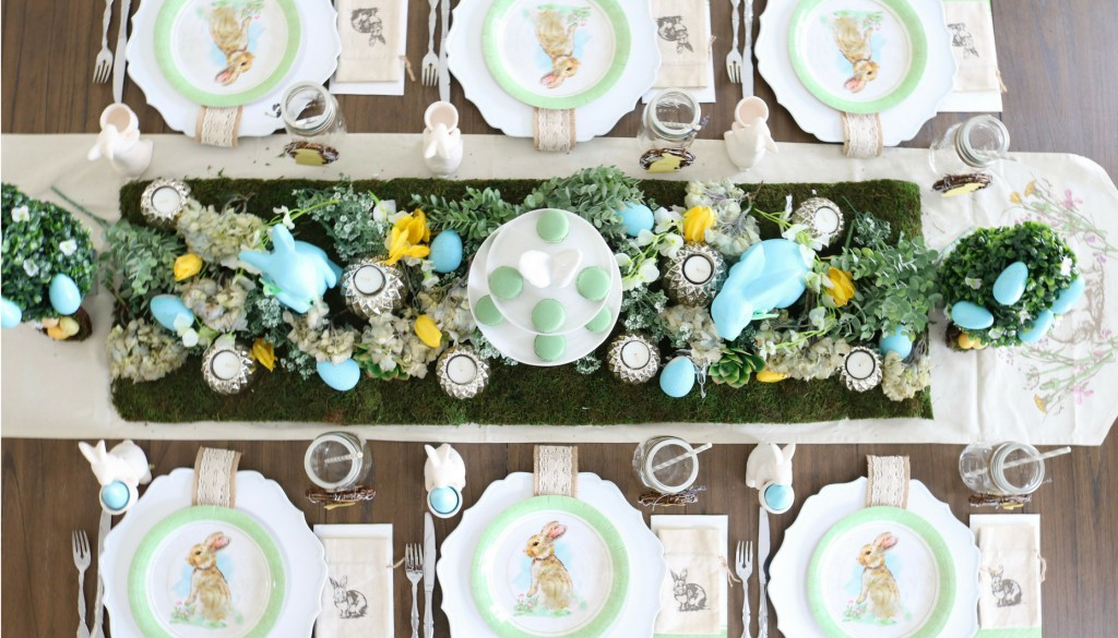 Modern Farmhouse Easter Design and Decoration Ideas
