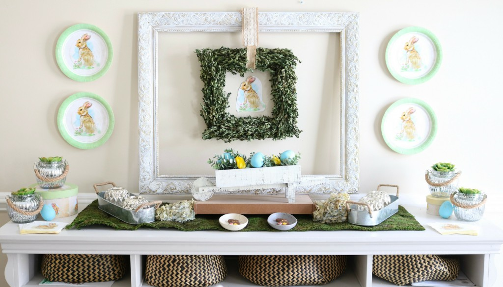 Modern Farmhouse Easter Decorations and Ideas