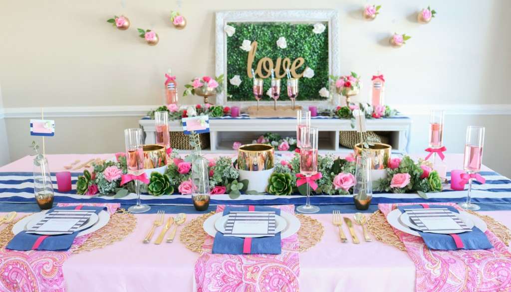 Navy and Pink Spring Wedding Ideas