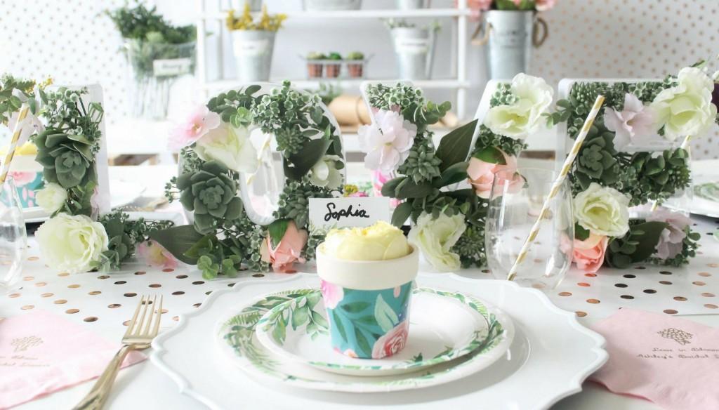Love in Bloom Garden Bridal Shower