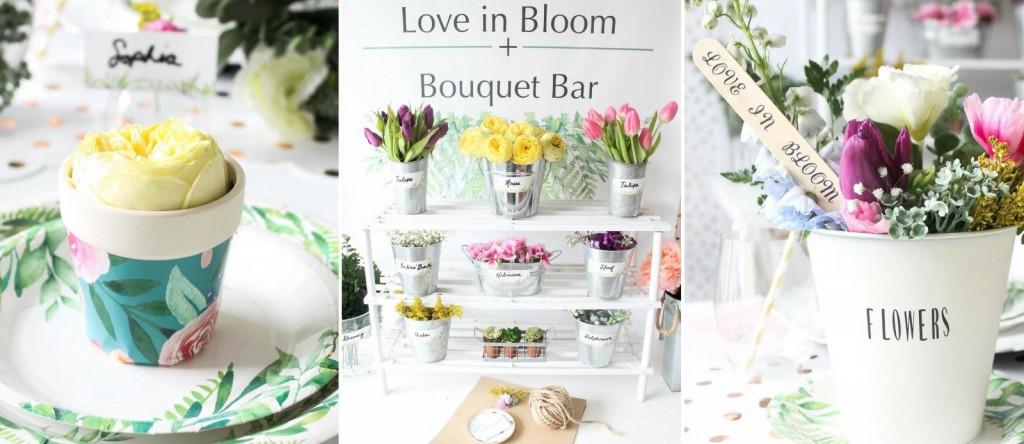 Love in Bloom Garden Bridal Shower Ideas
