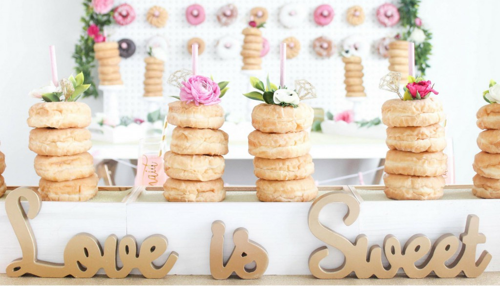 Glitz-and-Glaze-Donut-Bridal-Shower-DIY-Donut-Tower-Centerpiece