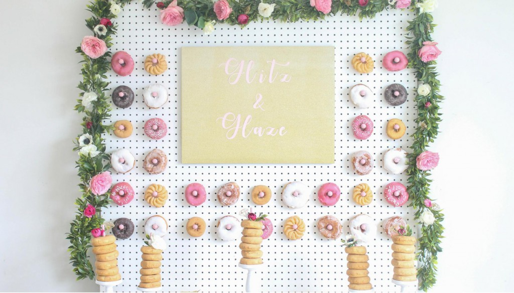 Glitz-and-Glaze-Donut-Bridal-Shower-DIY-Donut-Wall