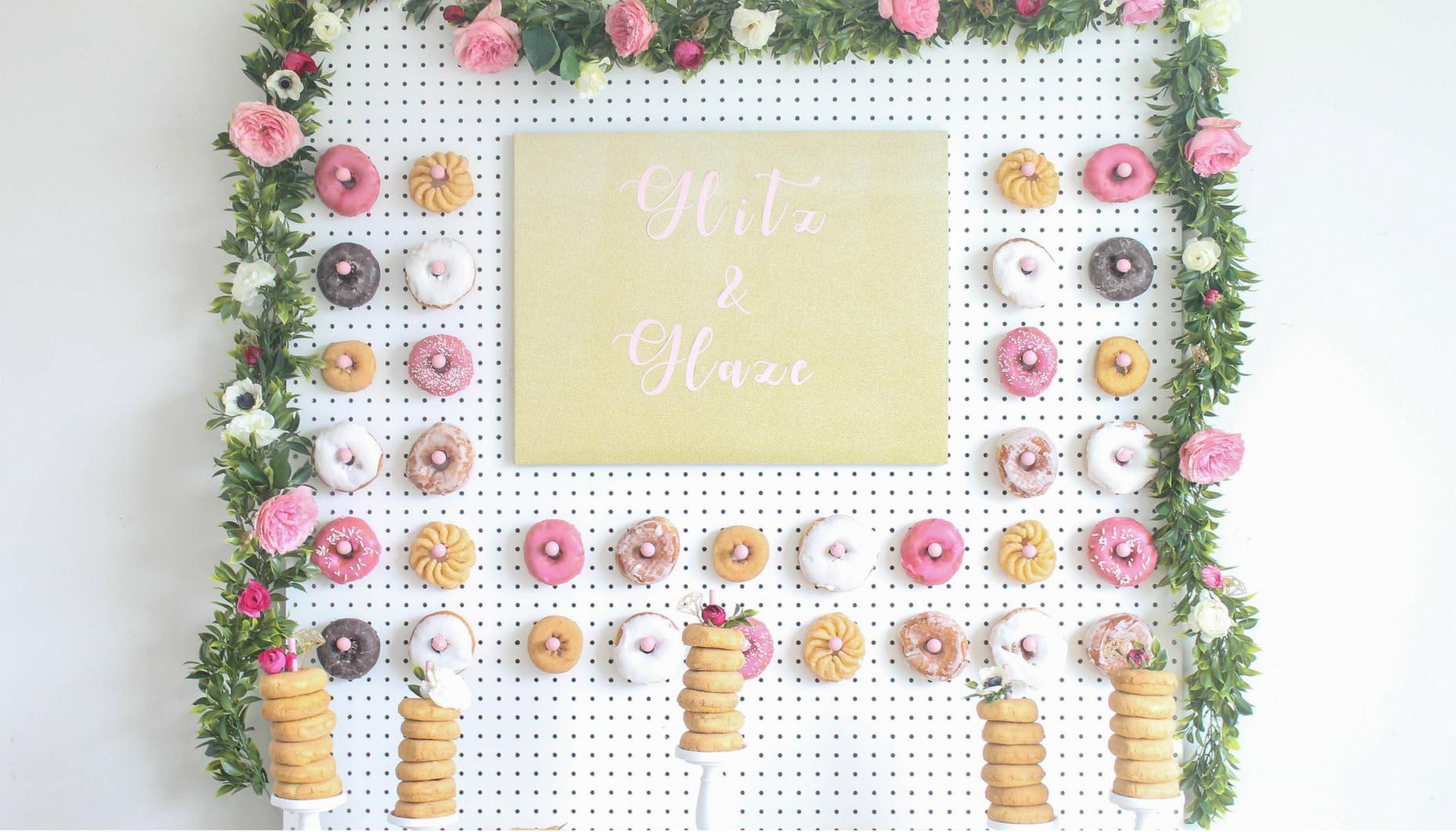 97e7c0a99d85 Glitz-and-Glaze-Donut-Bridal-Shower-DIY-Donut-