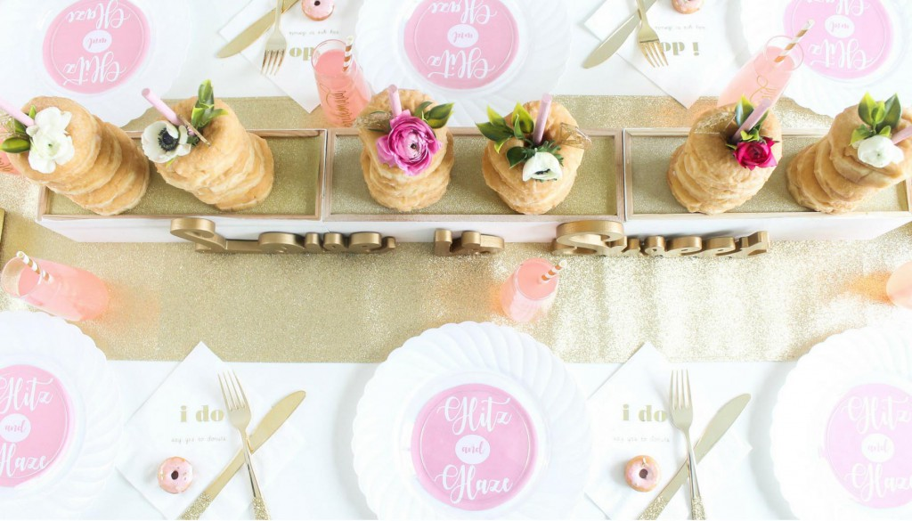 Glitz-and-Glaze-Donut-Bridal-Shower-Place-Settings