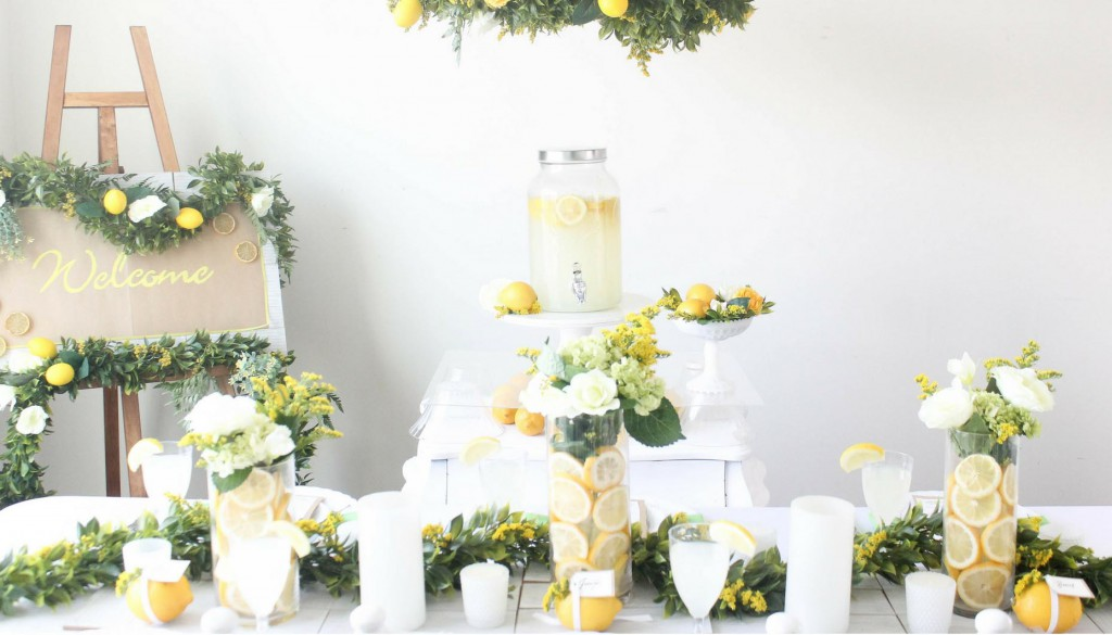 Lemon-Wedding-Decor