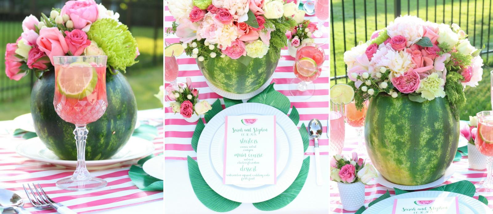 9a29963cedc9 Watermelon Bridal Shower